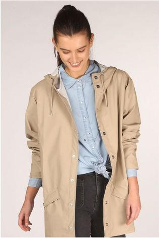 Rains Manteau W Brun Sable
