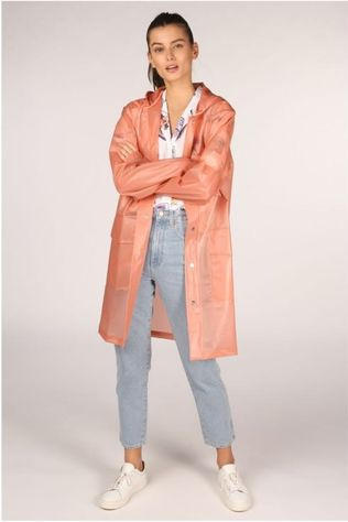 Rains Manteau Hooded 1269 Saumon