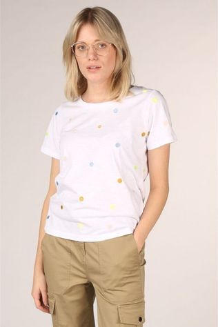 Numph T-Shirt Nualbinia Blanc/Assortiment