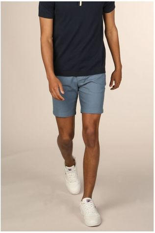 Selected Short straightchris blauw