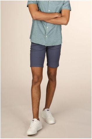 Selected Short straightparisaop Donkerblauw