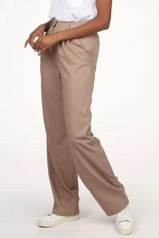 Object Pantalonrita Mw Trousers Brun Sable