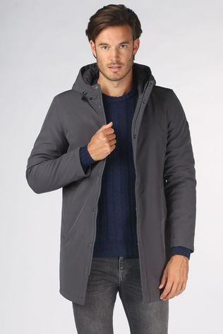 Matinique Manteau Madeston Gris Moyen