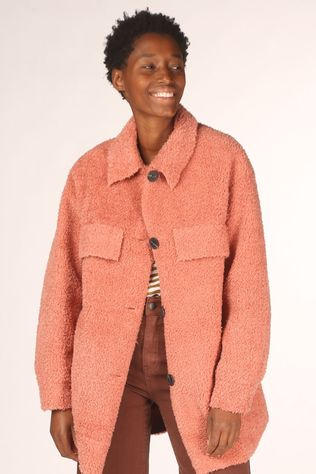 B.Young Manteau Bybecca Jacket - Rose Moyen