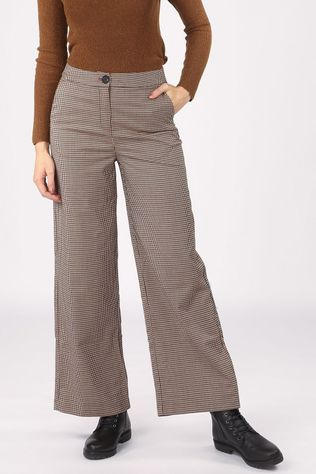 B.Young Pantalon Byerin Blanc Cassé/Bordeaux / Marron