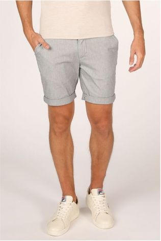 Selected Short Slhstraight Paris Mix Lichtgrijs