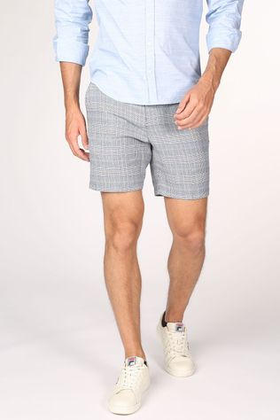 Selected Short Slhwill Donkerblauw/Ass. Geometrisch