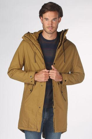 Selected Manteau sustainable Iconic Marron Chameau