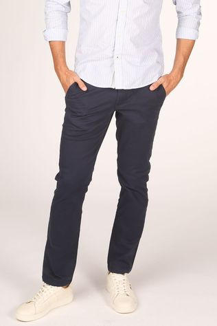 Selected Broek straight-Newparis Flex Pants W Noos Donkerblauw