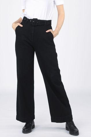 Selected Jeans Slfwillow Noir (Jeans)