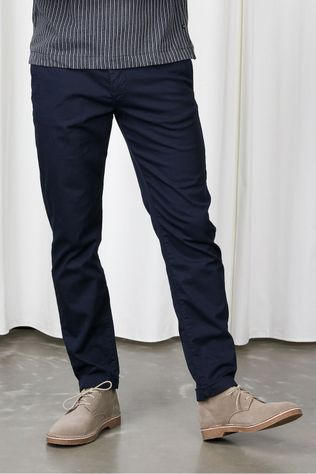 Selected Pantalon Slhslimcomfort-Barry  Flex Anks W Bleu Foncé