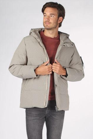 Elvine Manteau Bror Check Blanc Cassé/Assorti / Mixte