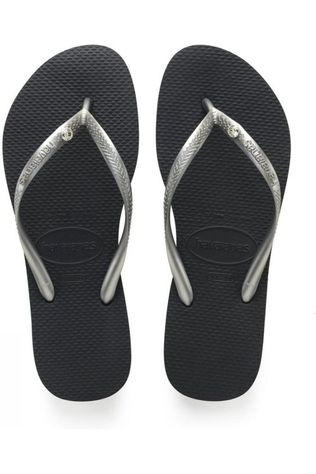 Havaianas Tongs Crystal Glamour Argent