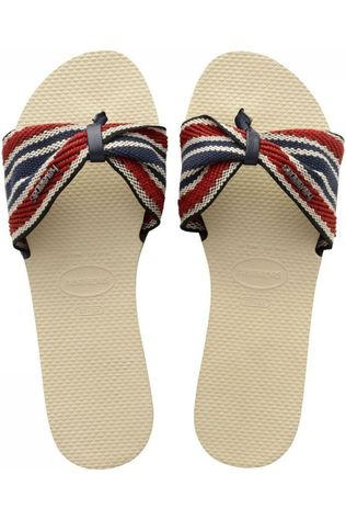 Havaianas Slipper You Saint Tropez Fita Middenblauw/Middenrood