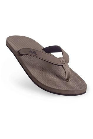 Indosole Tongs Flip Flop Brun moyen