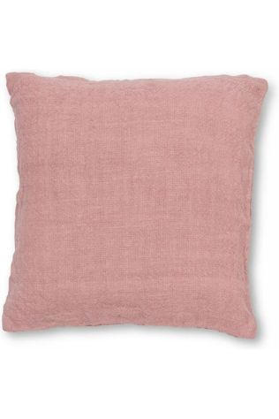 Urban Nature Culture Coussin Washed Jutte Cameo Brown (45 x 45 cm) Rose Clair