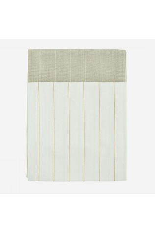Madam Stoltz Serviette Striped Kitchen 50X70Cm Brun Sable/Or