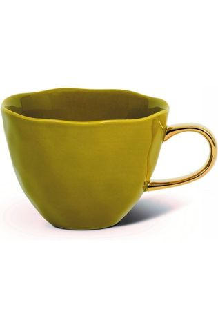 Urban Nature Culture Servies Morning Cup Amber Green Middenkaki