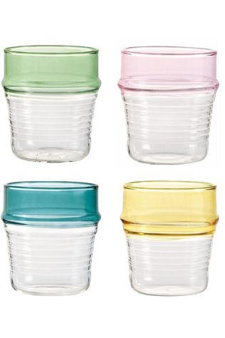 &KLEVERING Servies Glass Asilah Set Of 4 Assorti / Gemengd