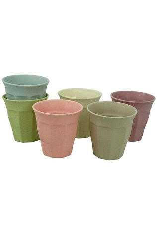 Zuperzozial Servies Cupful Of Colour L Set Of 6 Assorti / Gemengd