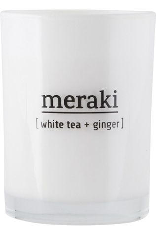 Meraki Bougie Parfumée White Tea & Ginger Pas de couleur / Transparent