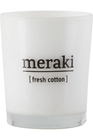 Meraki Bougie Parfumée Scented Fresh Cotton Pas de couleur / Transparent