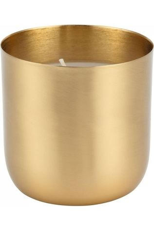 VT Wonen Bougie Cup With Candle Metal Gold Or