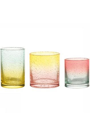 &KLEVERING Bougie/Bougeoir Tealight Bubbles Set Of 3 Assorti / Mixte