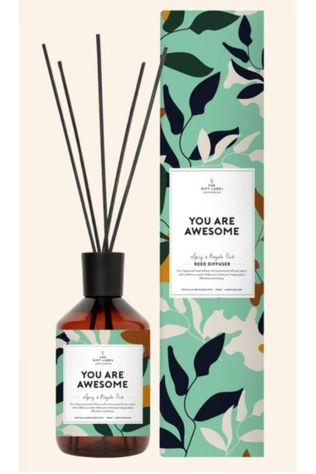 The Gift Label Bâtons De parfum You Are Awesome Bleu Moyen/Blanc