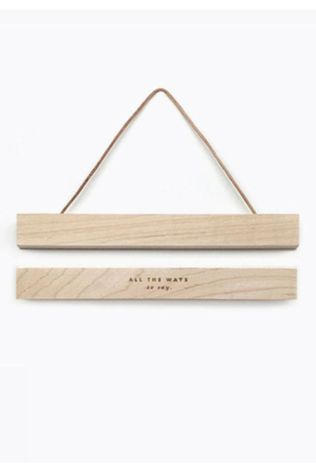 All the ways to say Kader Wooden Magnetic Hanger Klein Geen kleur / Transparant