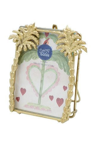 Doing Goods Kader/Poster Heritage Palm Frame Small Goud