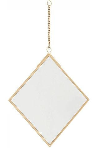 Madam Stoltz Miroir Hanging Or