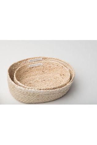 Urban Nature Culture Kleine Opberger Baskets Corn Set Of 2 Assorti / Gemengd