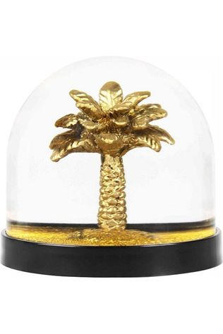 &KLEVERING Decoration Wonderball Palm Tree Gold Glitter Assortiment