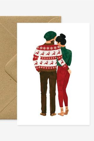 All the ways to say Carte De Voeux Xmas Lovers Pas de couleur
