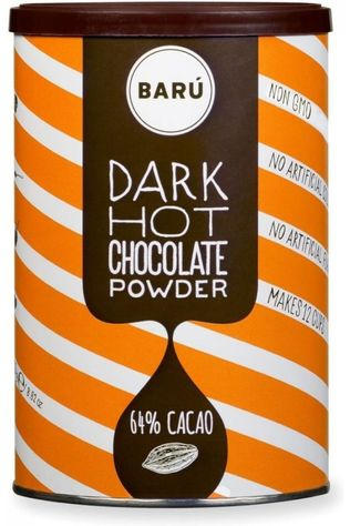 Baru Nourriture Drinking Powder Dark Hot Chocolade Pas de couleur / Transparent