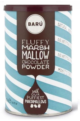 Baru Fluffy Marshmallow Choco Powder Geen kleur / Transparant