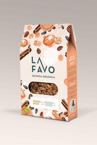 La Favo Nourriture Granola Going Nuts 300G Pas de couleur / Transparent