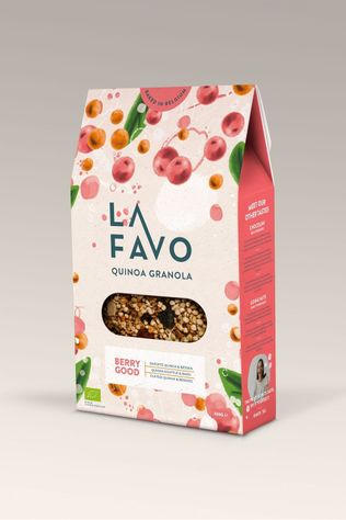 La Favo Nourriture Granola Berry Good 300G Pas de couleur / Transparent