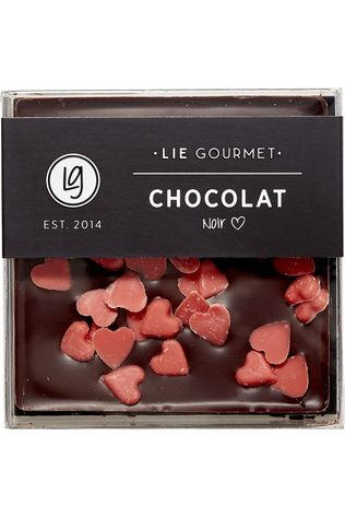 LIE GOURMET Nourriture Dark Chocolate Red Hearts Pas de couleur