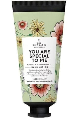 The Gift Label Lotion Hand You Are Special To Me Middengroen/Middenrood