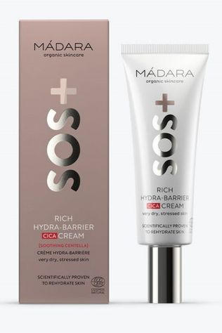 Madara Cosmetics Lotion SOS Rich Hydra-Barrier CICA Cream Geen kleur