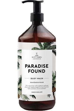 The Gift Label Savon Body Wash Paradise Found Blanc/Vert Moyen