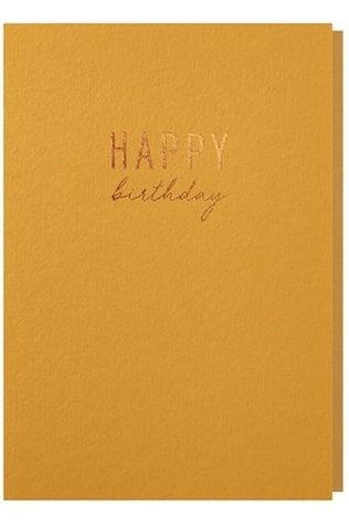 Papette Carte De Voeux Happy Birthday Pas de couleur / Transparent