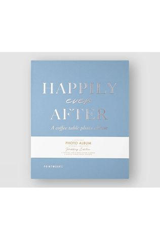 PRI Photo Album Happily Ever After Bleu Clair