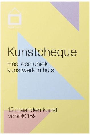 KUNST IN HUIS Kunst In Huis Kunstcheque 12 Maanden Pas de couleur / Transparent