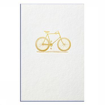 Postkaart Gold Fever Bicycle