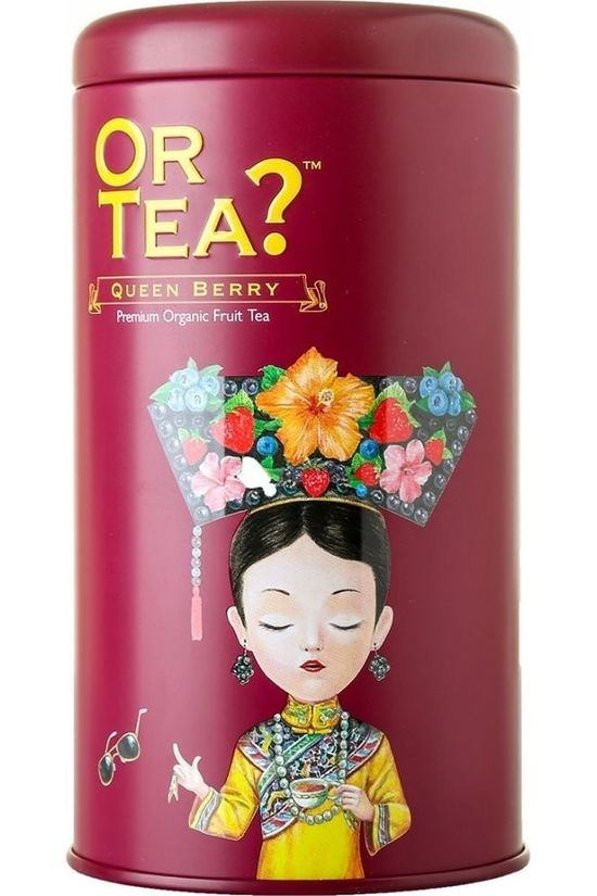 Or Tea? Thee Tin Can Queen Berry Geen kleur / Transparant
