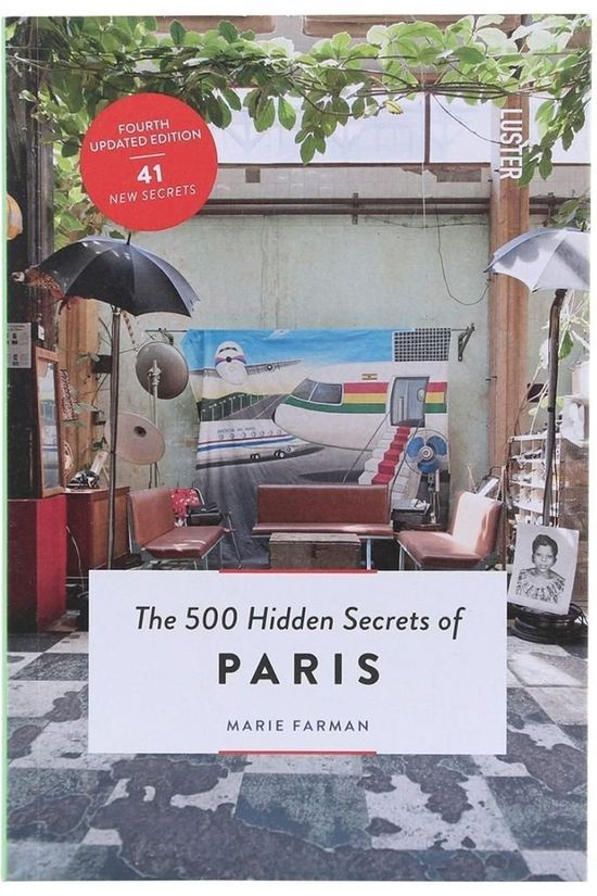 Luster Boek The 500 Hidden Secrets Of Paris Geen kleur / Transparant