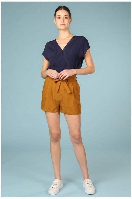 Orfeo Short Sandy Marron Chameau